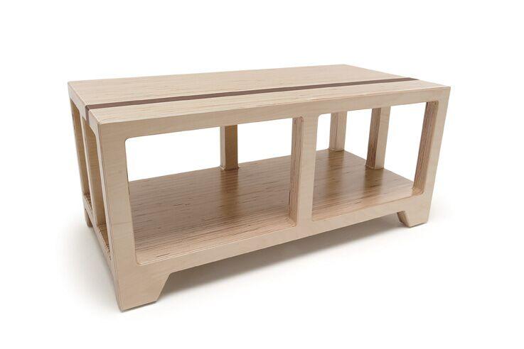 Narrative Core Coffee Table Ii Color: Maple