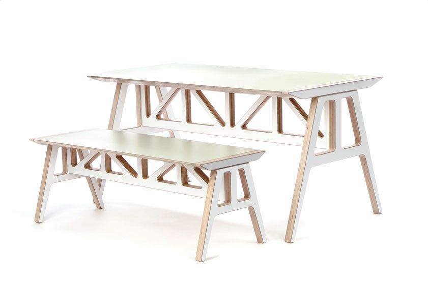 Dining Table Sets Truss 2 Piece Dining Set