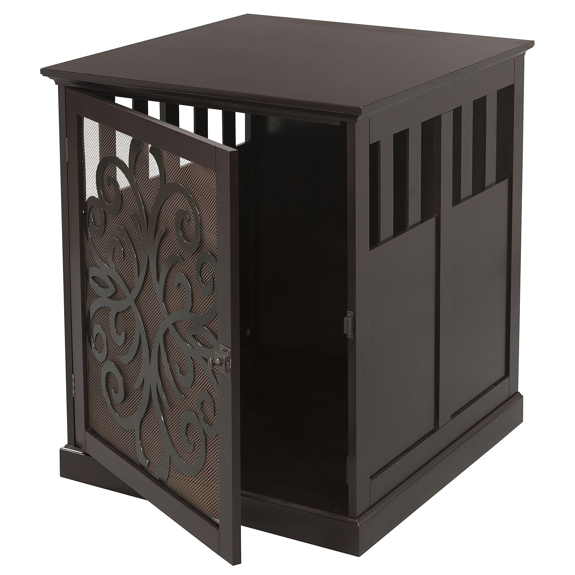 Arya Buddy Residence Pet Crate Size: Medium (26.5