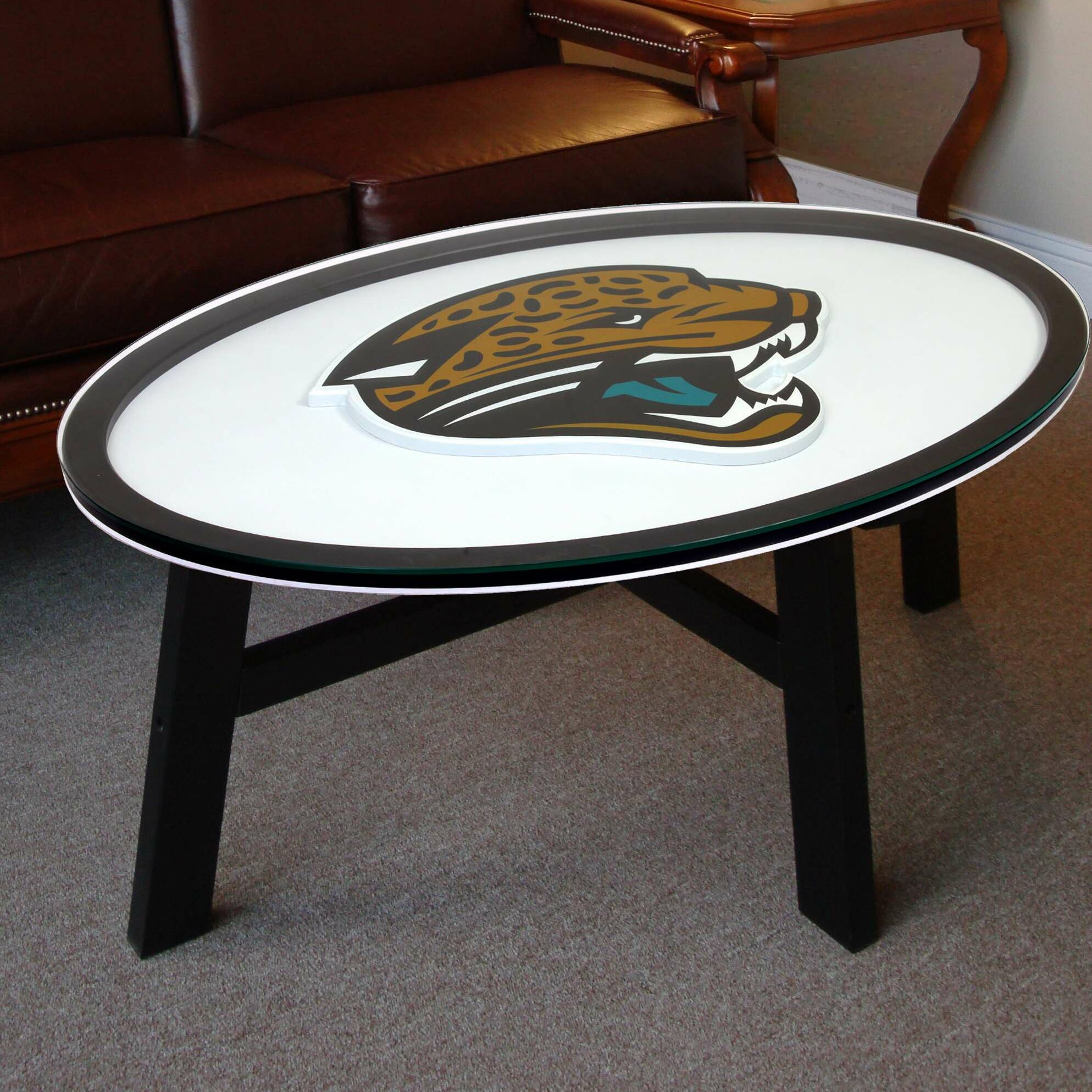 Nfl Logo Coffee Table NFL Team: Jacksonville Jaguars