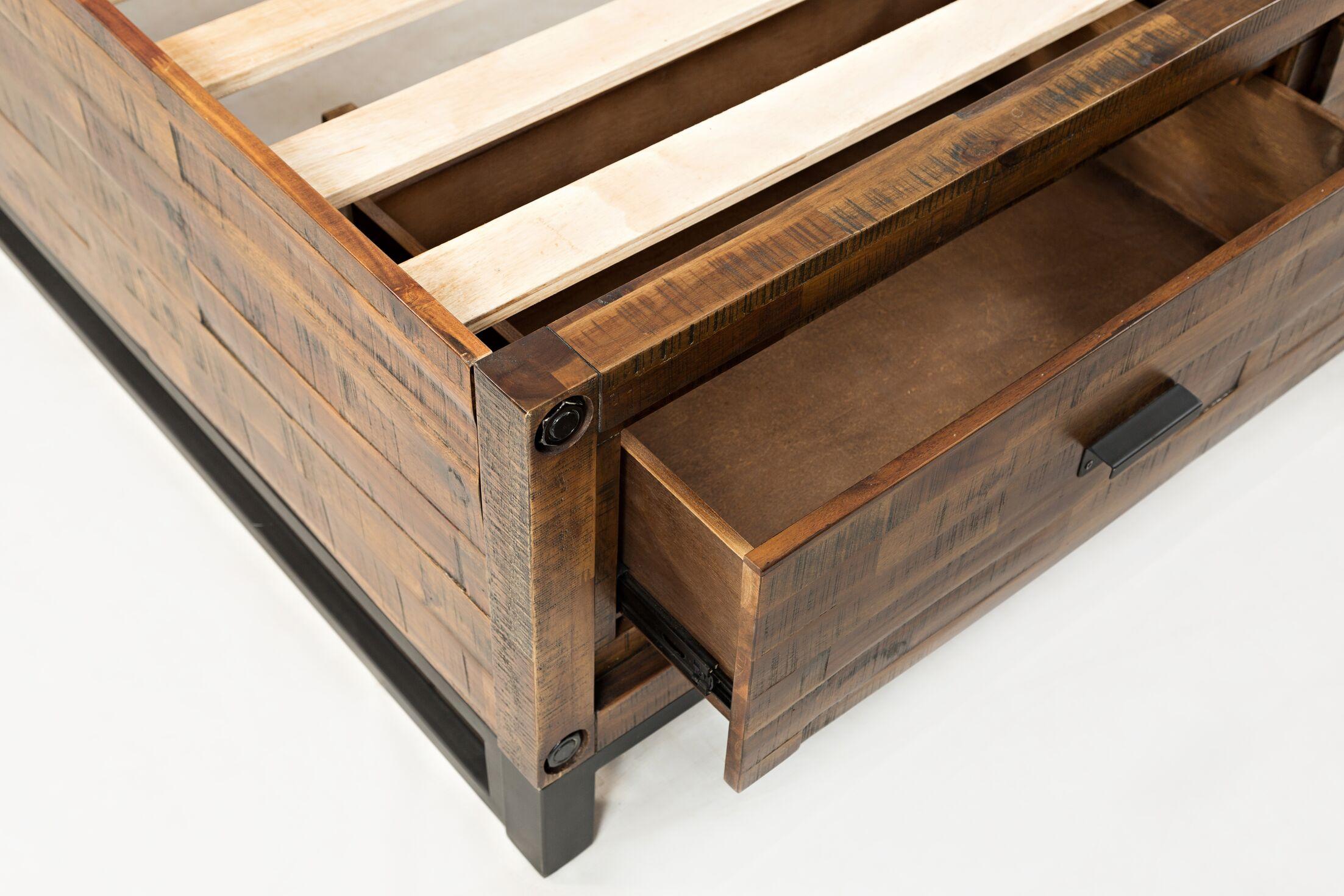 Norwalk Storage Bed Size: King