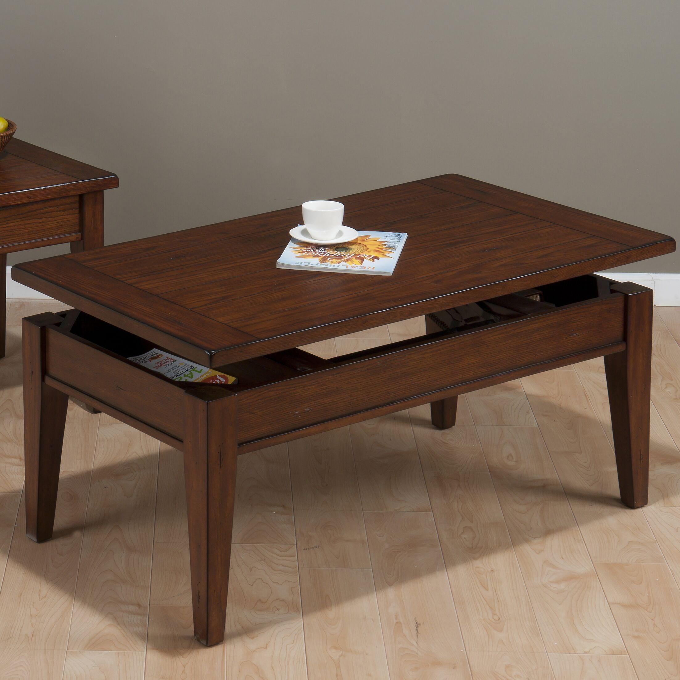 Dunbar Lift Top Coffee Table