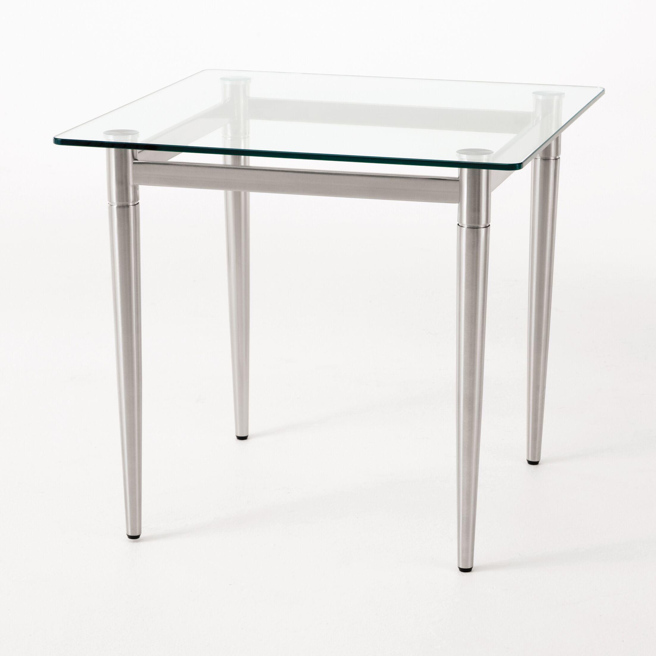 Ravenna End Table Color: Mahogany