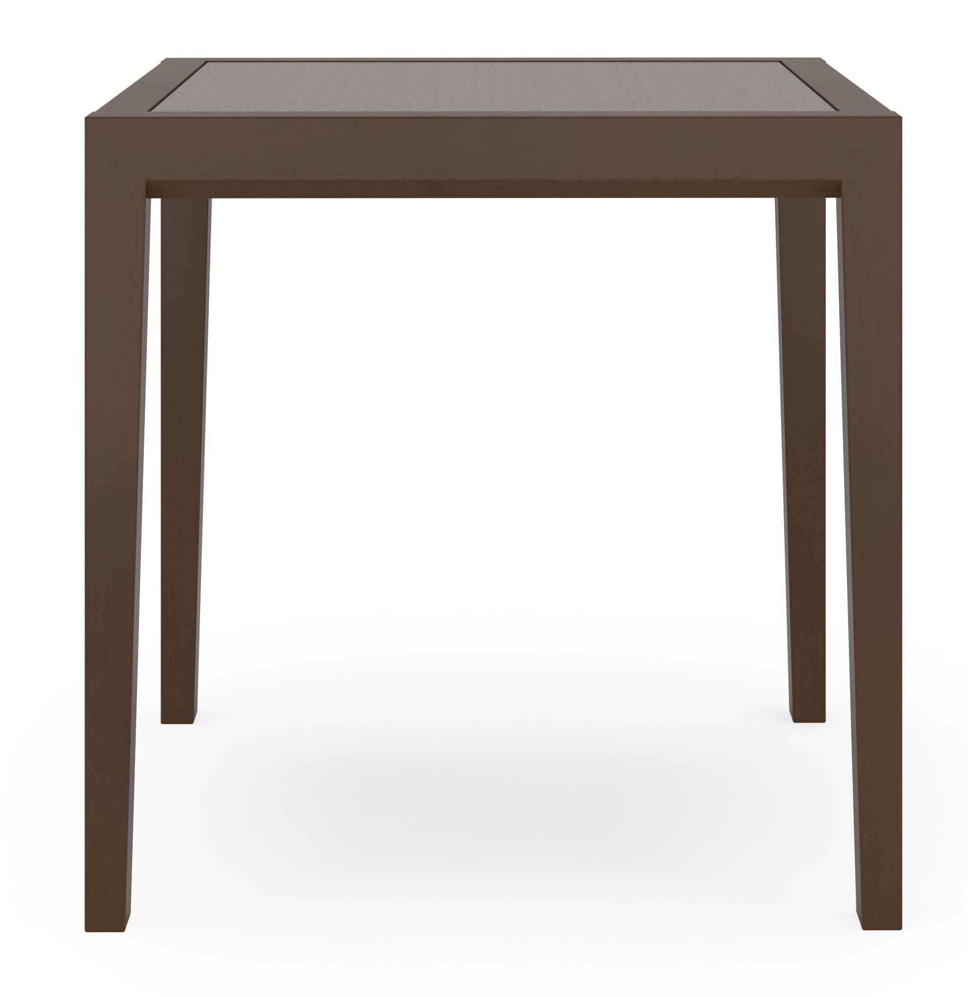 Brooklyn Sarum Twill End Table Frame Color: Black