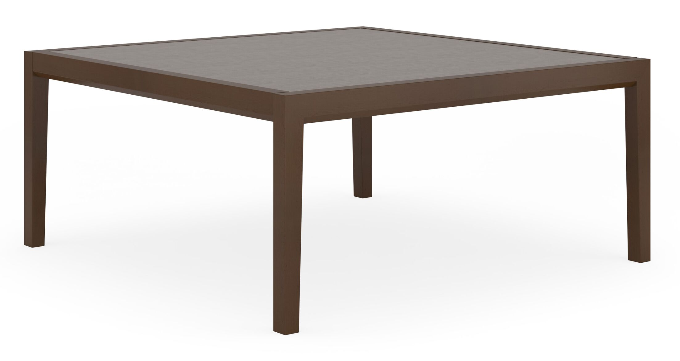 Brooklyn Coffee Table Base Color: Medium, Top Color: Earthen Twill, Size: 36