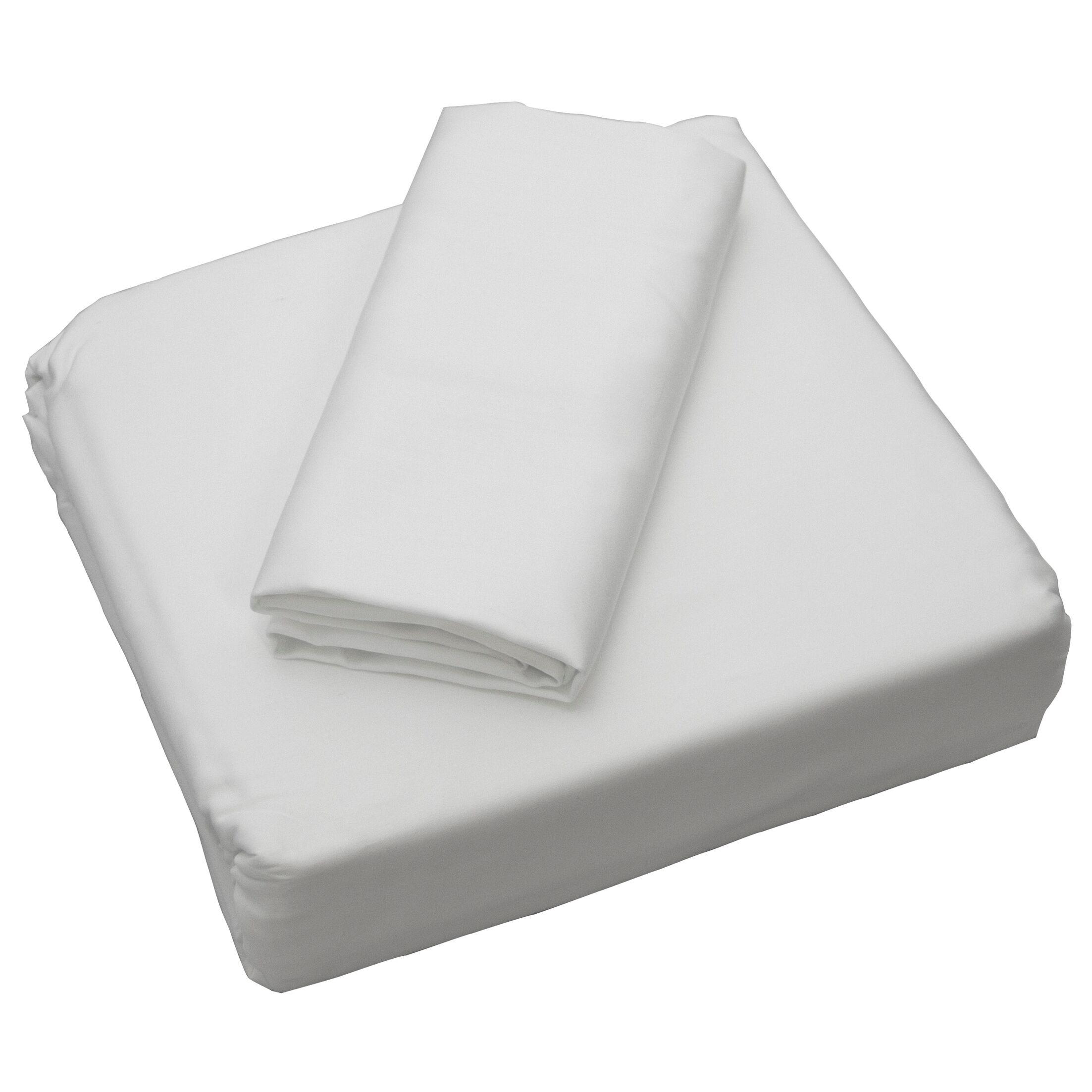Cardinal 300 Thread Count Sheet Set Size: California King, Color: White