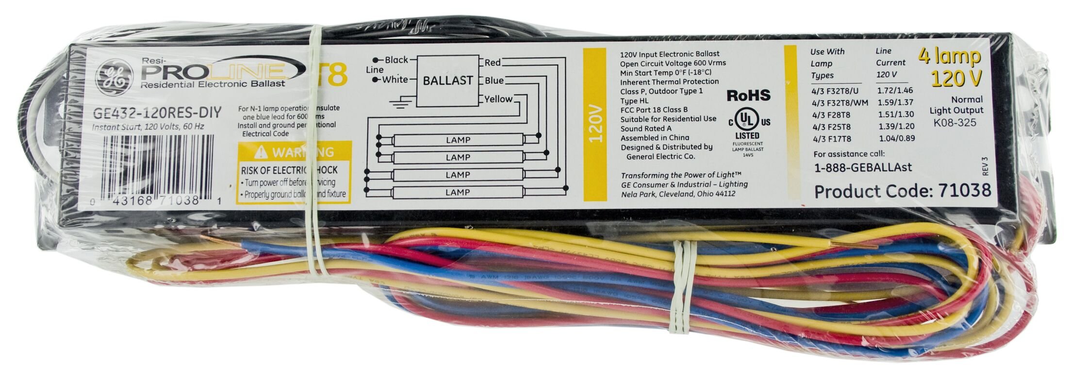 Residential Electronic Ballast