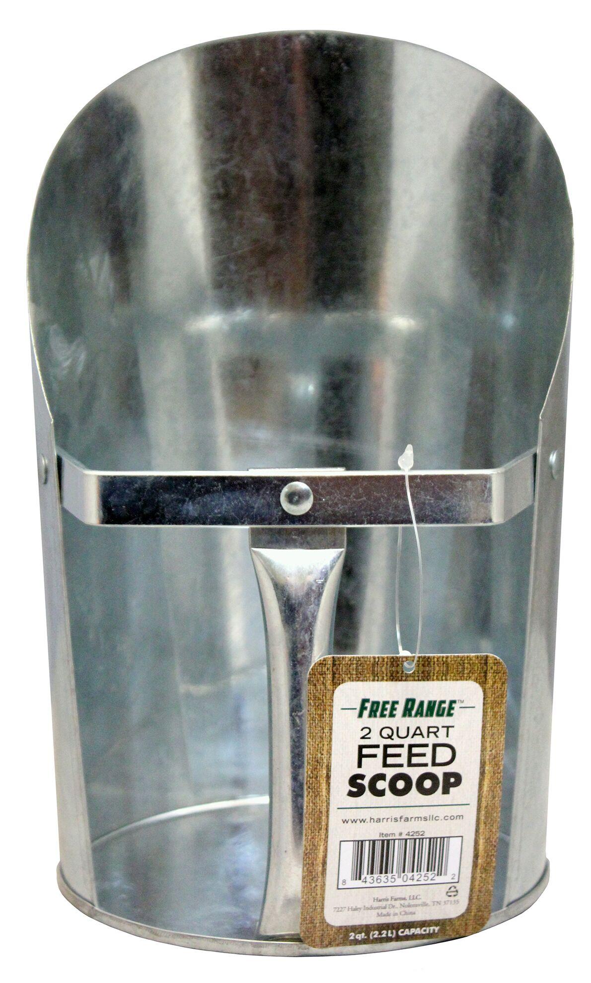 Feed Scoop Size: 2 qt.