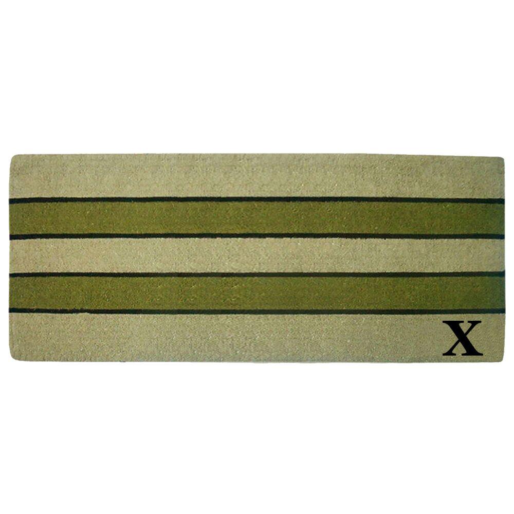 Heavy Duty Door Mat Letter: X