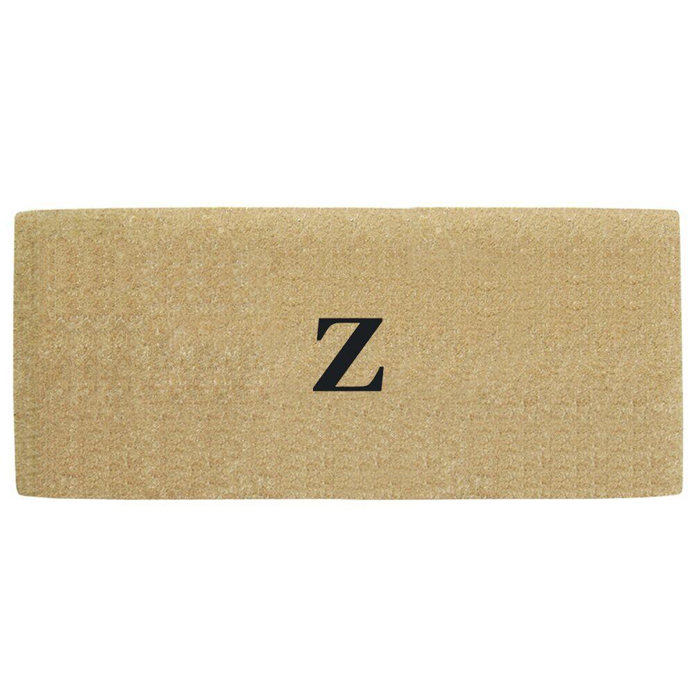 Heavy Duty Door Mat Letter: Z