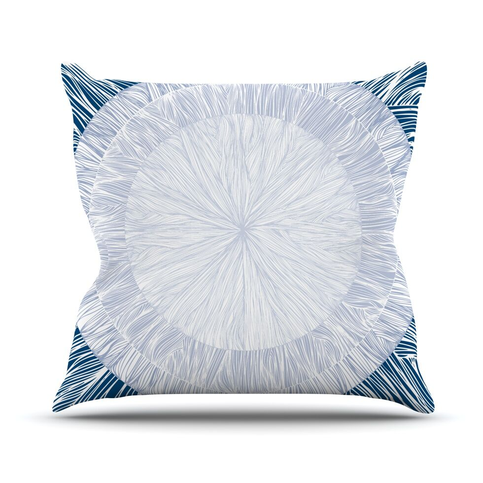 Pulp by Anchobee Throw Pillow Size: 26'' H x 26'' W x 1