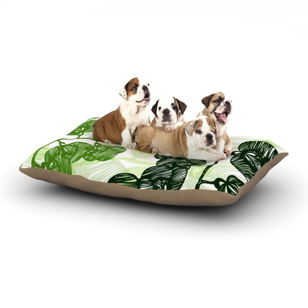 Anchobee 'Hikae' Dog Pillow with Fleece Cozy Top Size: Small (40