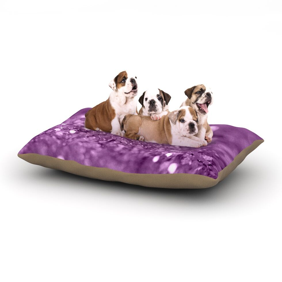 Beth Engel 'Radiance' Dog Pillow with Fleece Cozy Top Size: Small (40