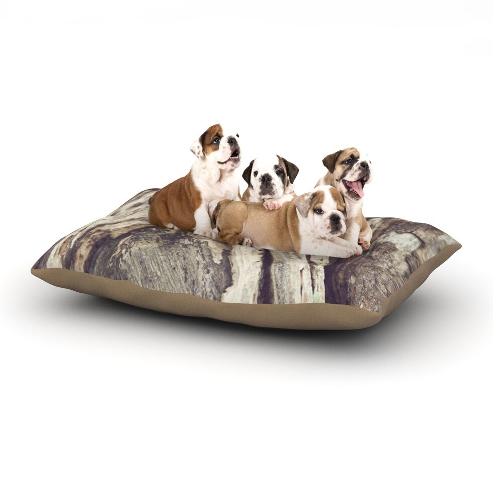 Catherine McDonald 'Bark' Dog Pillow with Fleece Cozy Top Size: Small (40