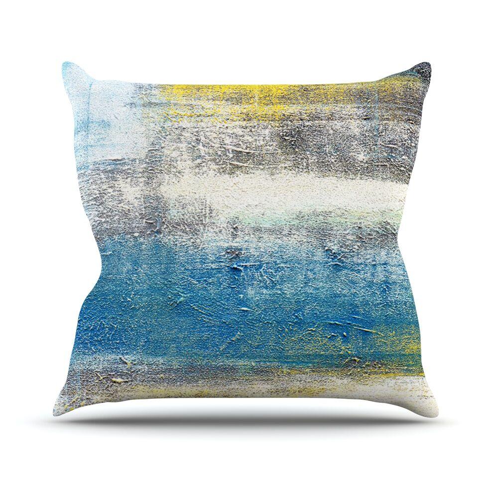 Make A Statement Throw Pillow Size: 26'' H x 26'' W x 1