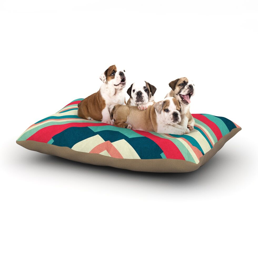 Danny Ivan 'Good Night Nobody' Dog Pillow with Fleece Cozy Top Size: Small (40