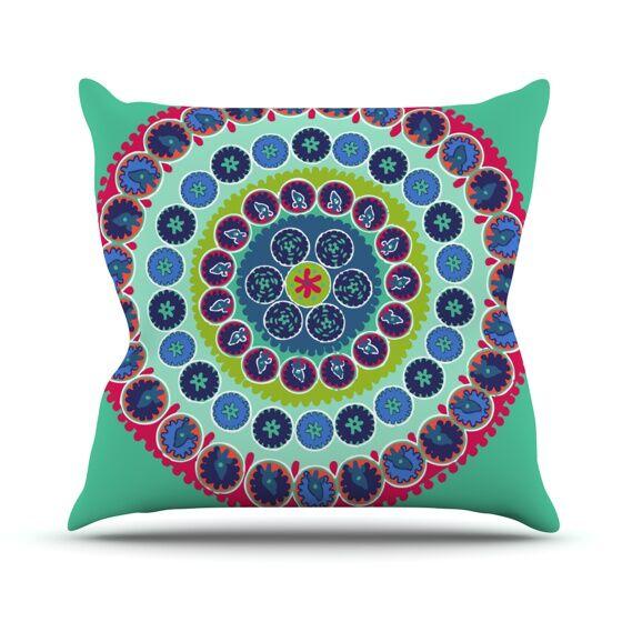 Surkhandarya Throw Pillow Size: 26