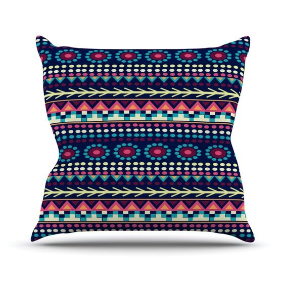 Aiyana Throw Pillow Size: 26