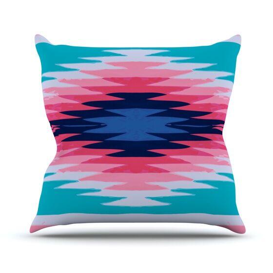 Surf Lovin II Throw Pillow Size: 26