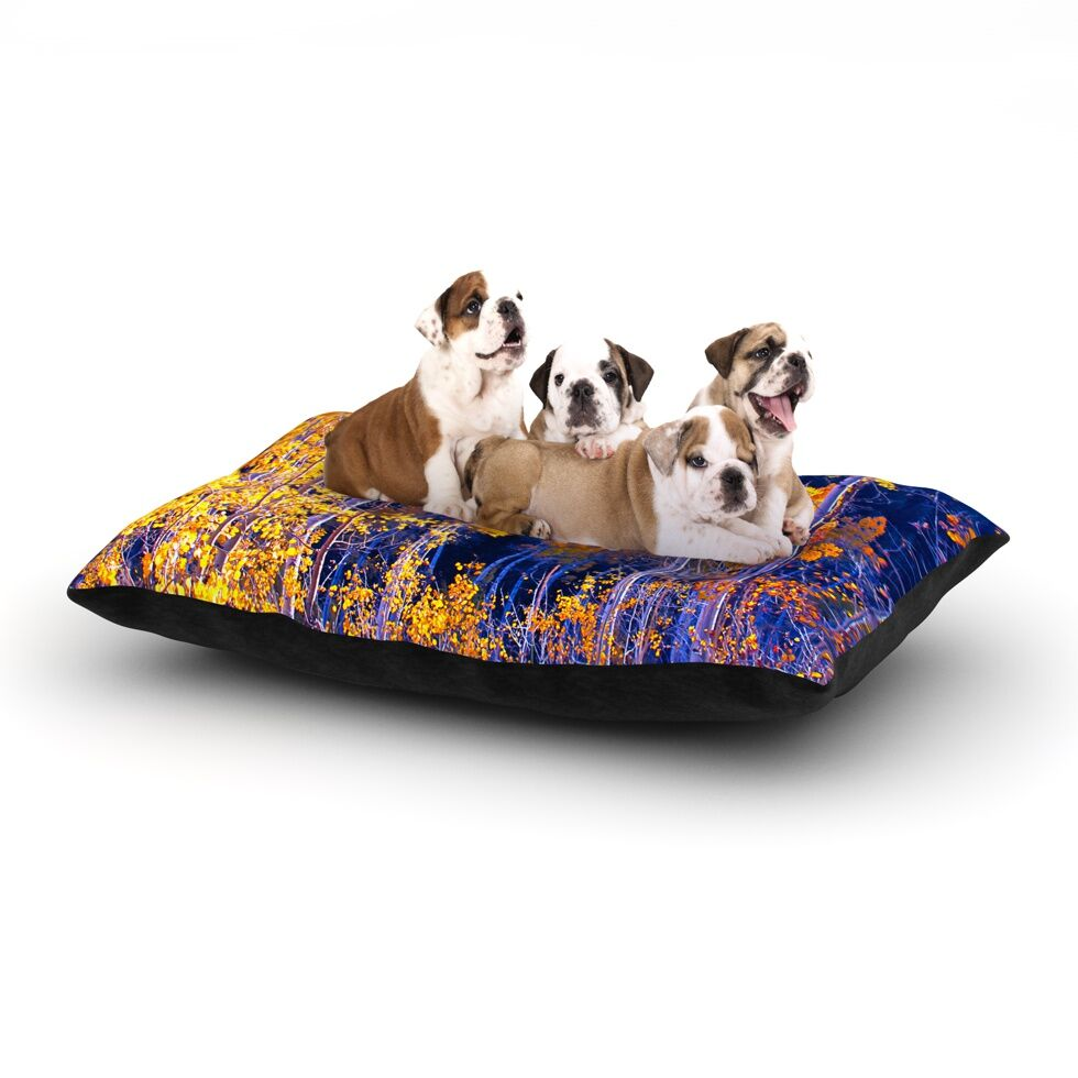 'Trees' Dog Bed Size: 40