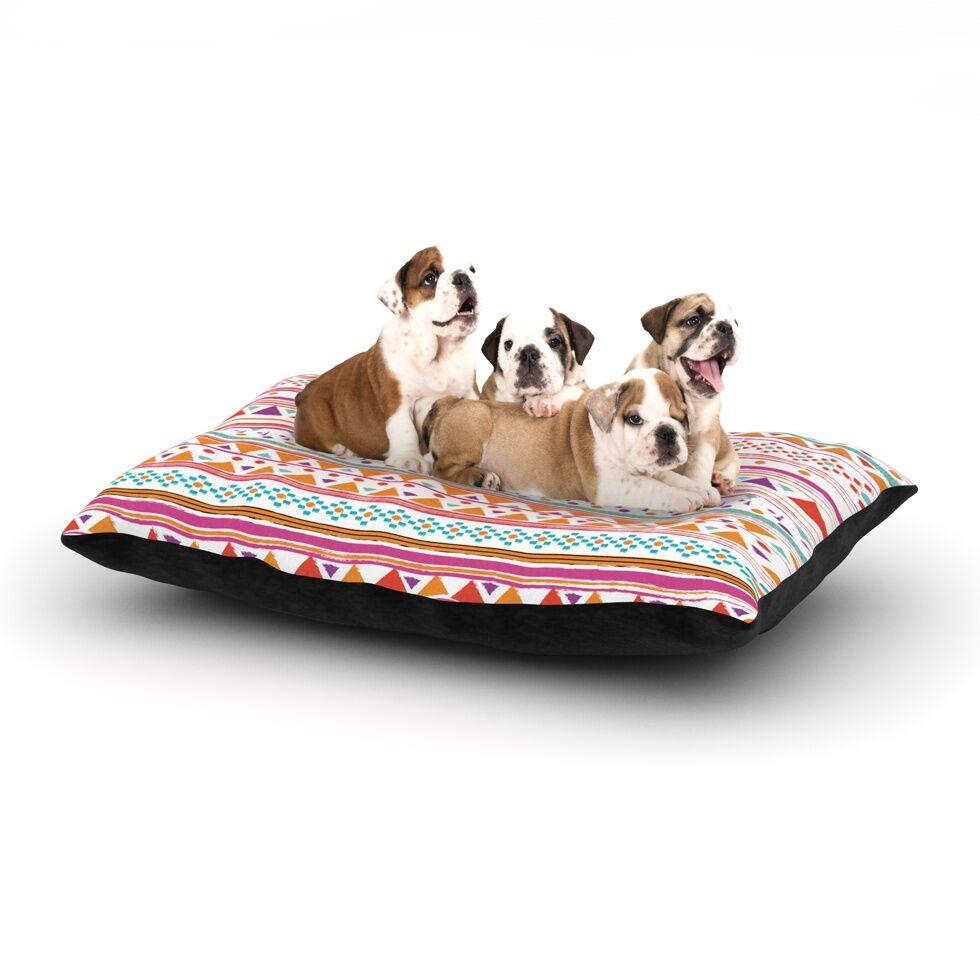 'Native Bandana' Dog Bed Size: 40