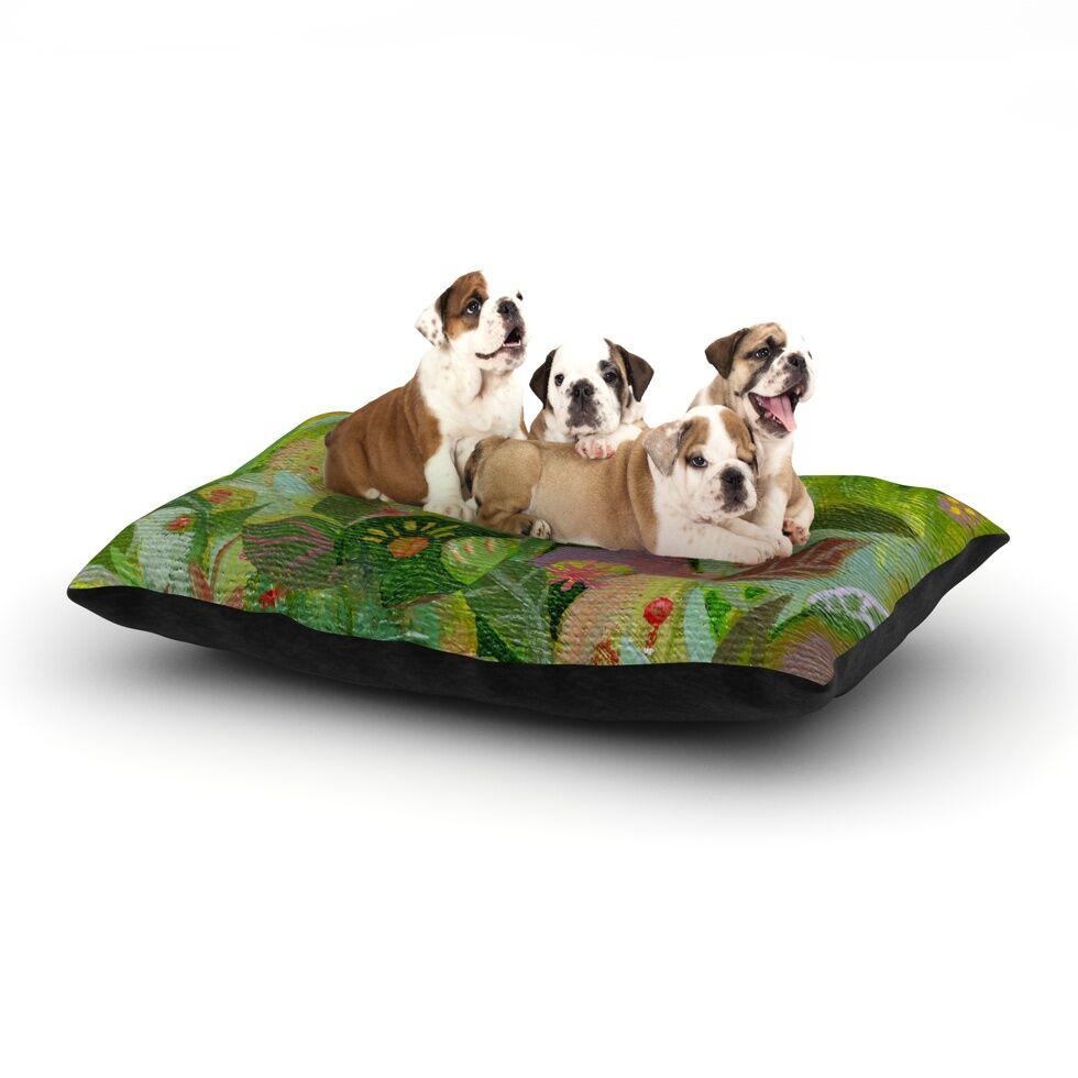 'Jungle' Dog Bed Size: 40