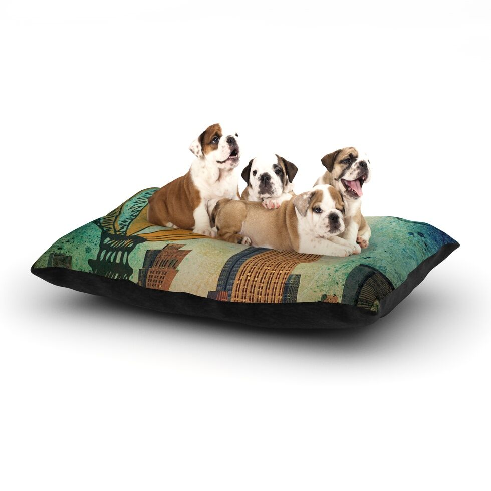 'New York' Dog Bed Size: 40