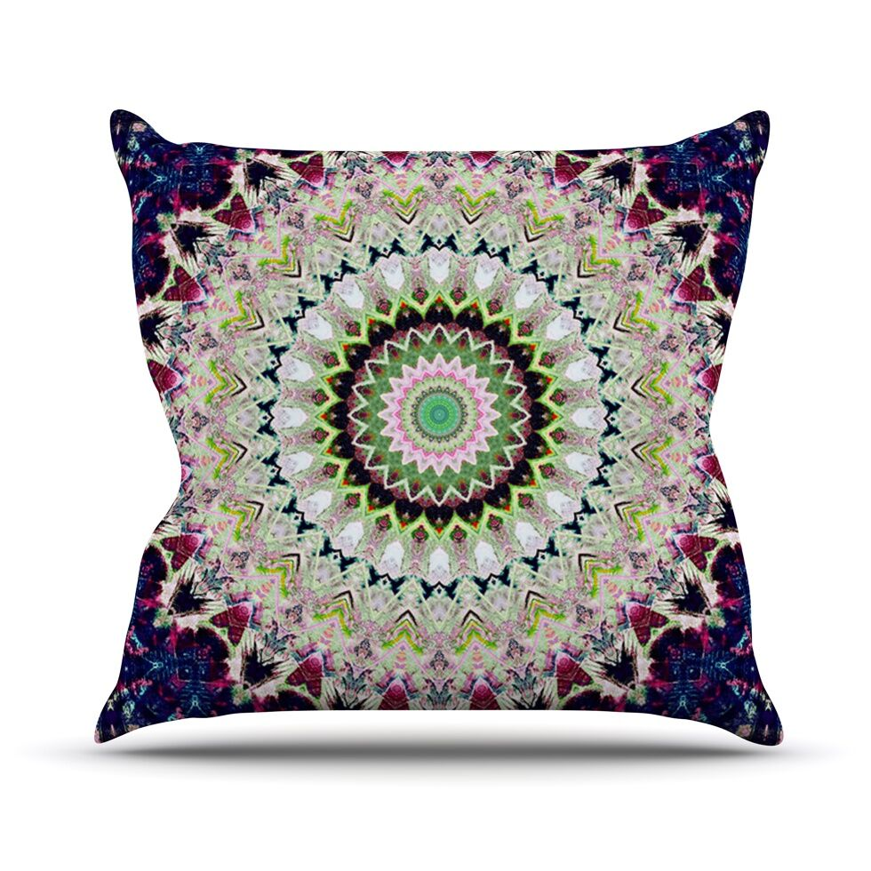 Summer of Folklore Outdoor Throw Pillow Size: 26
