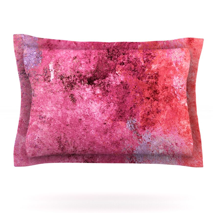 Featherweight Candy by CarolLynn Tice Featherweight Pillow Sham Size: King, Fabric: Cotton