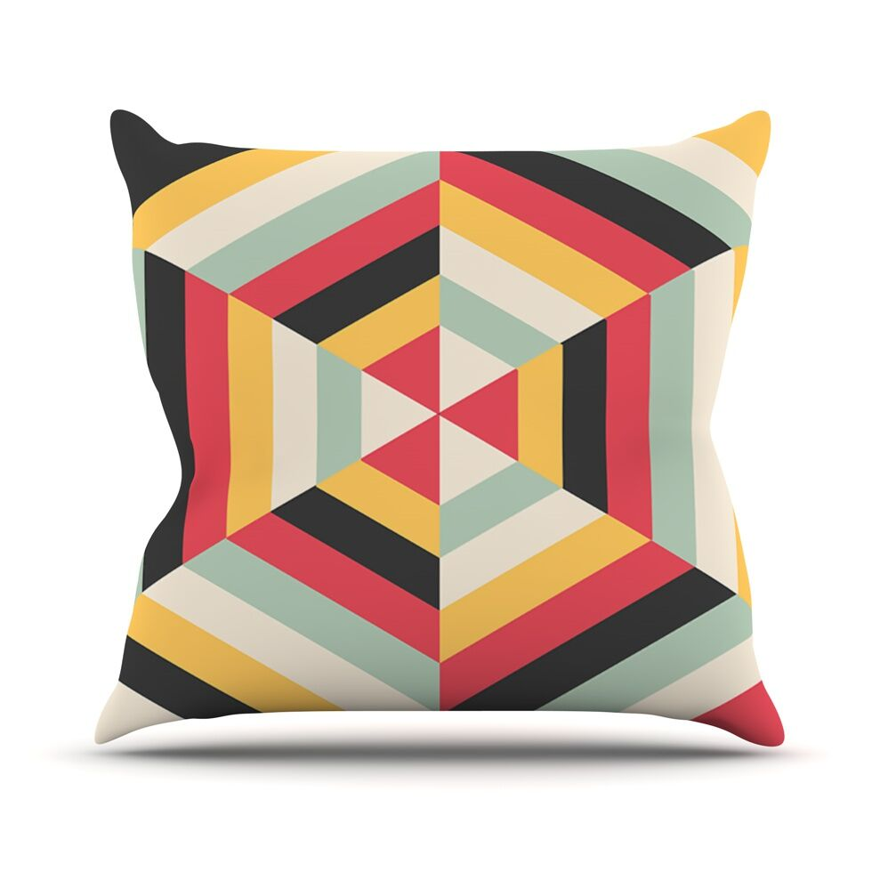 On Call by Danny Ivan Throw Pillow Size: 16'' H x 16'' W x 1