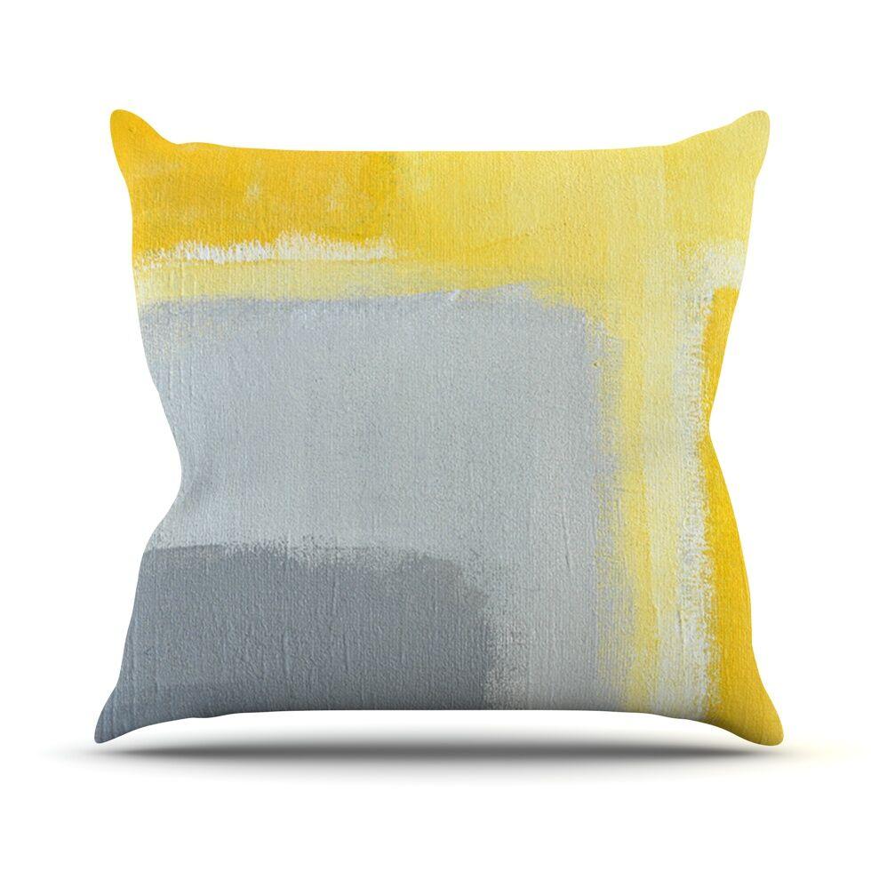 Inspired by CarolLynn Tice Throw Pillow Size: 26'' H x 26'' W x 1