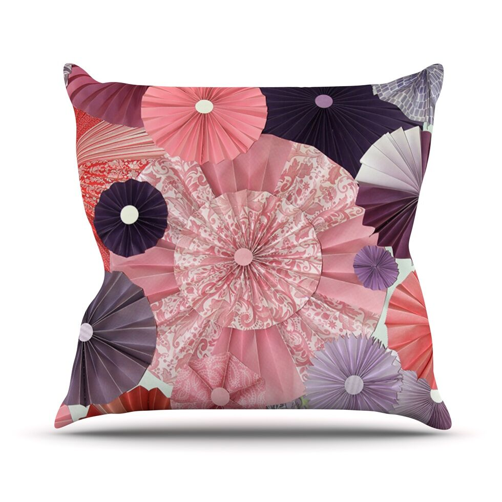 The Royal Court by Heidi Jennings Throw Pillow Size: 26