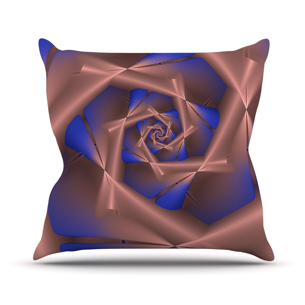 Vistica's Vista by Michael Sussna Throw Pillow Size: 26