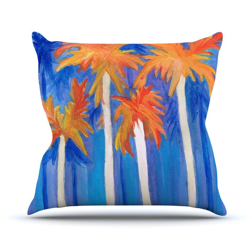 Florida Autumn by Rosie Brown Throw Pillow Size: 26