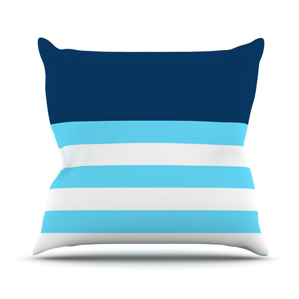 Nauticki by Trebam Throw Pillow Size: 20