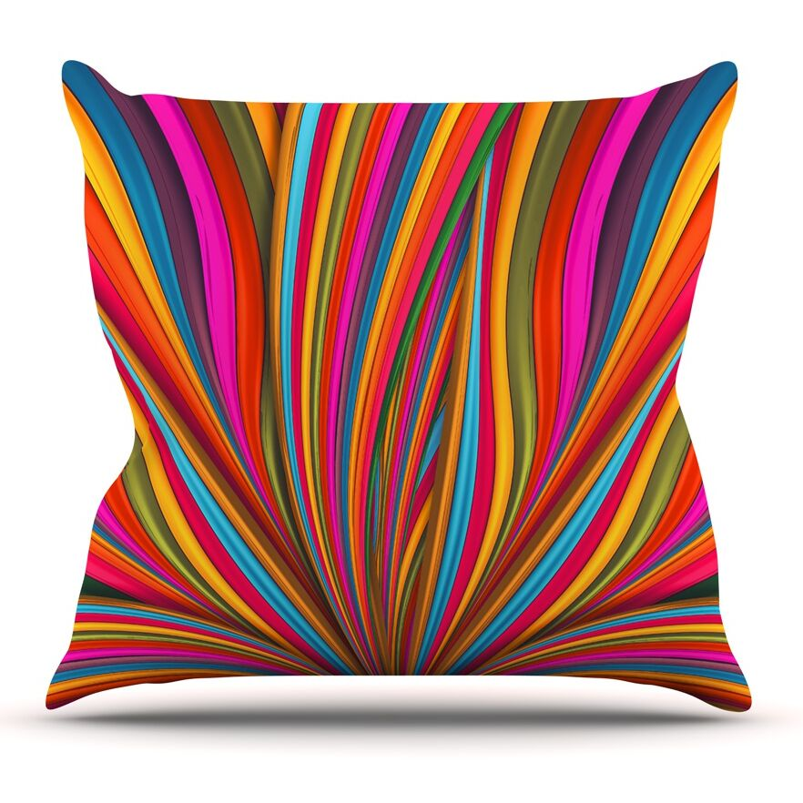 Believer by Danny Ivan Throw Pillow Size: 20'' H x 20'' W x 1