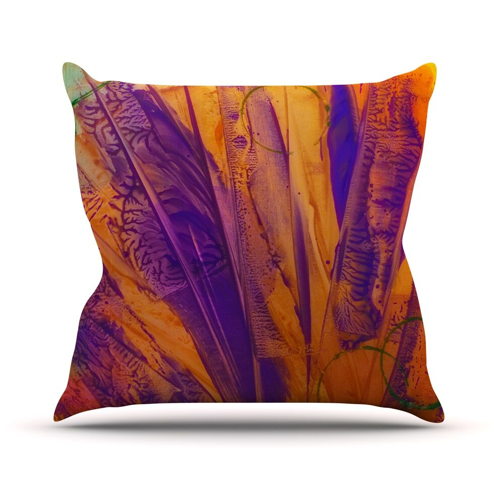 Together Throw Pillow Size: 26'' H x 26'' W