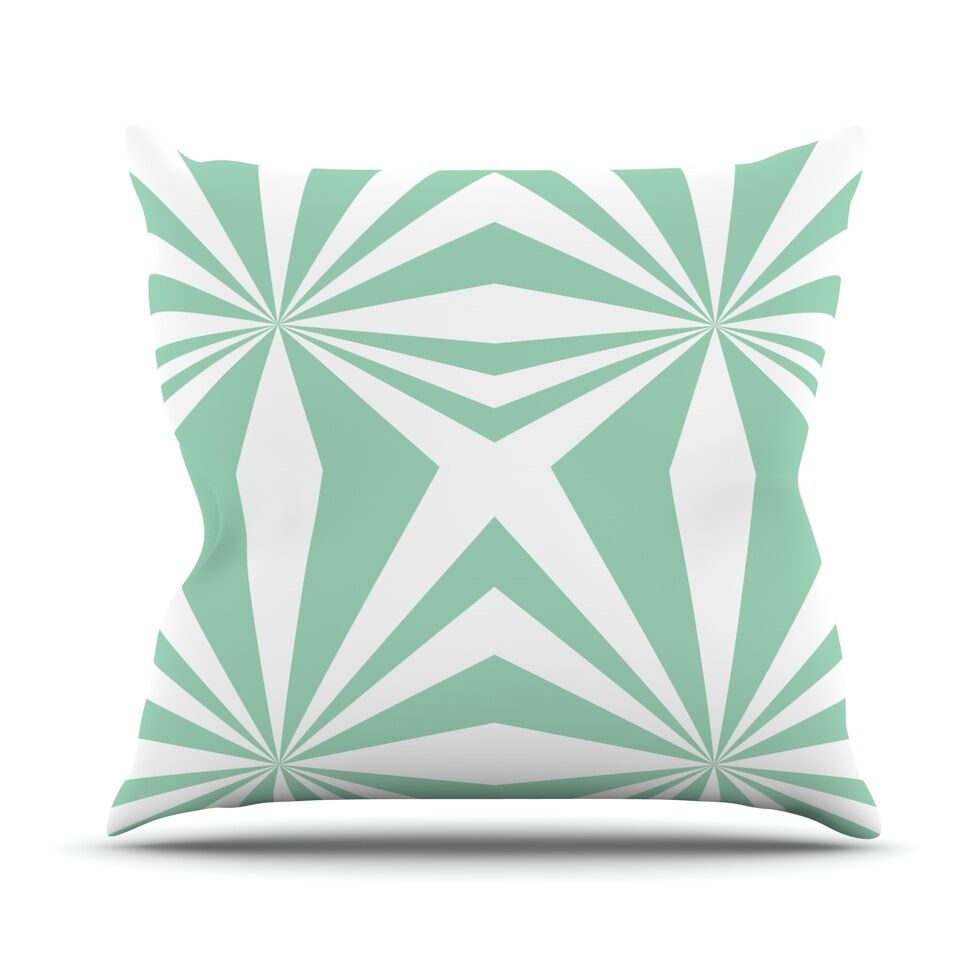 Starburst Throw Pillow Size: 26