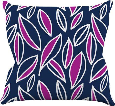 Leaving by Emine Ortega Throw Pillow Size: 26'' H x 26'' W x 1