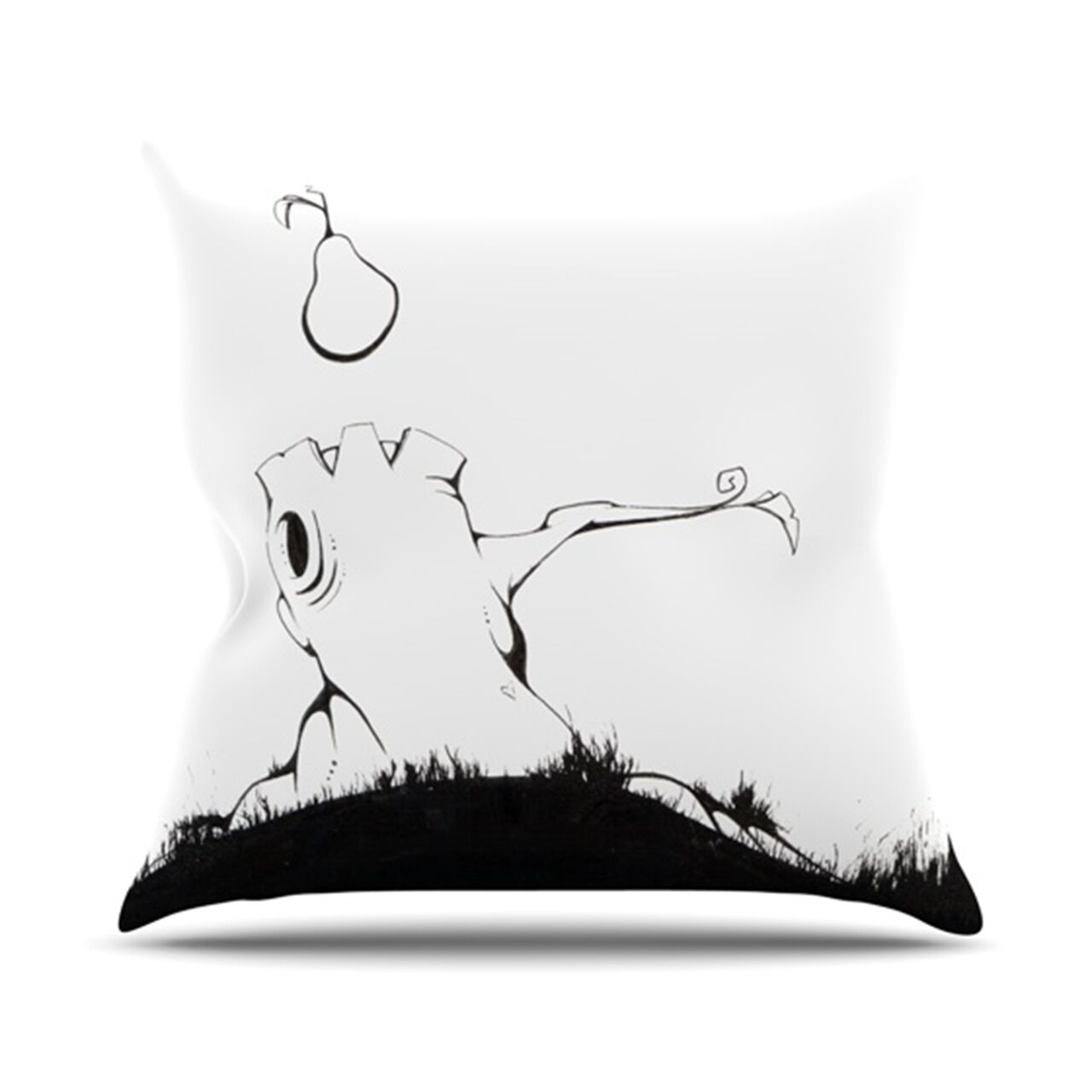 It's Alright Throw Pillow Size: 26