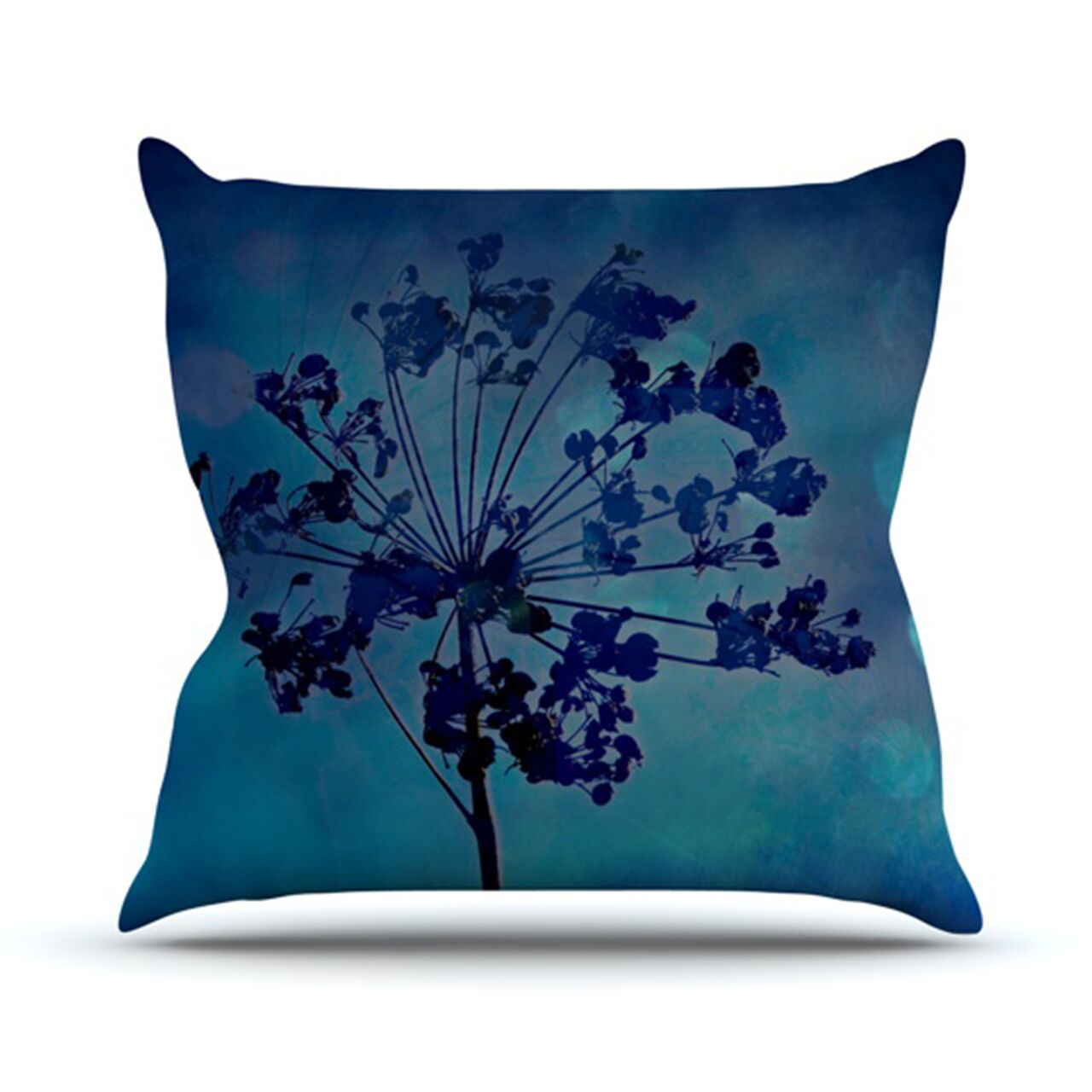 Grapesiscle Outdoor Throw Pillow Size: 26