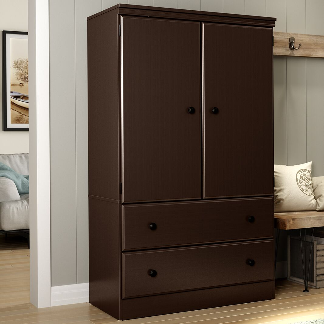 Preciado Traditional Armoire Finish: Chocolate