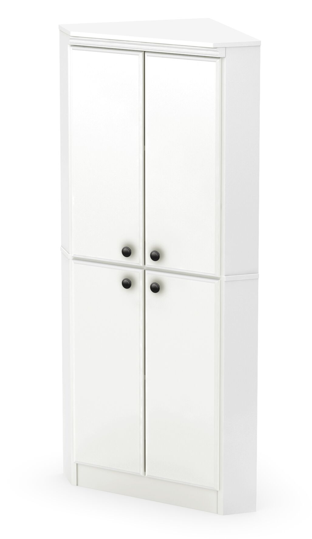 Caines Armoire Finish: Pure White