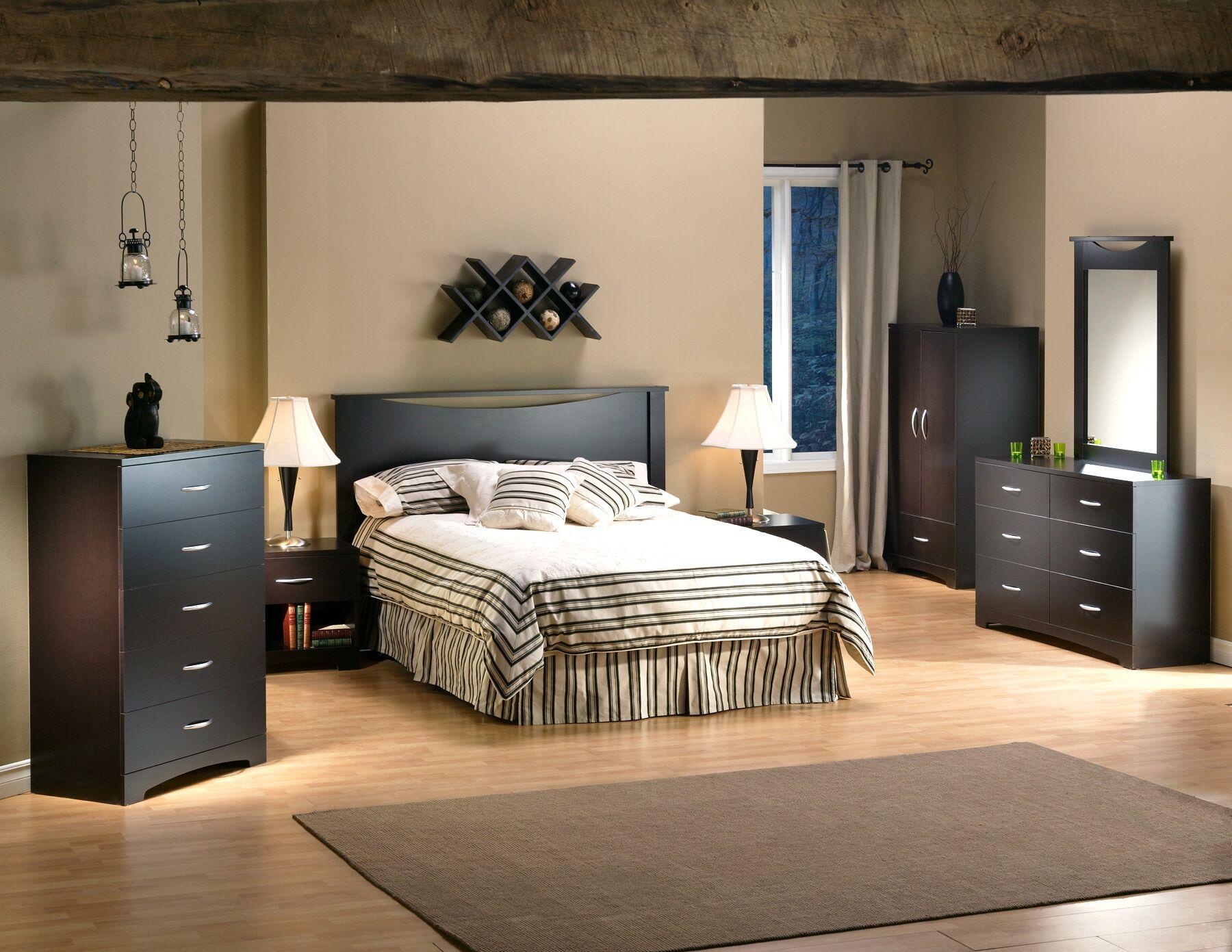 Back Bay Platform Configurable Bedroom Set