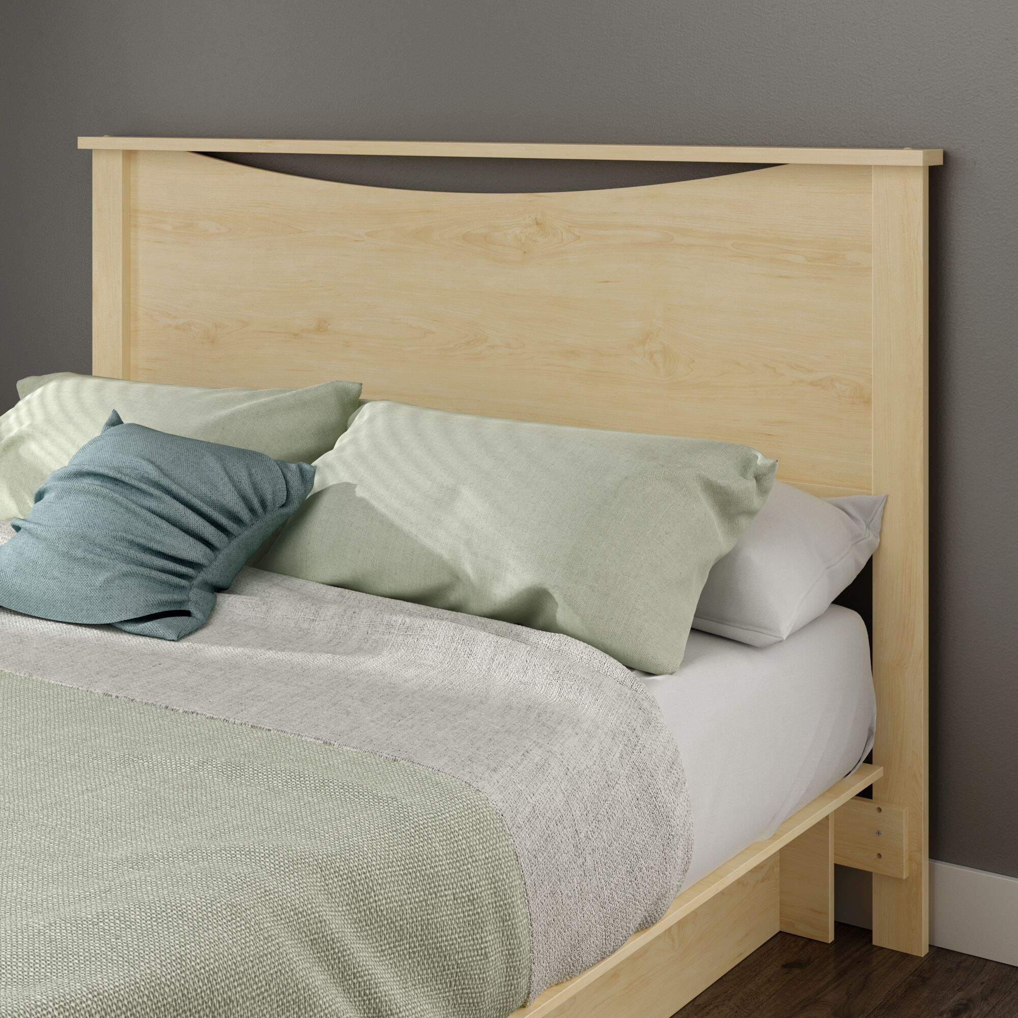 Gramercy Queen Panel Headboard Color: Natural Maple