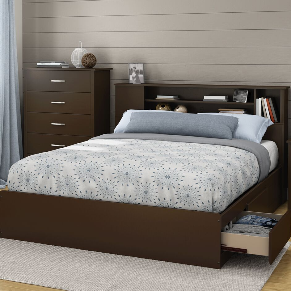 Fusion 40.25in Tall Queen Platform Bed
