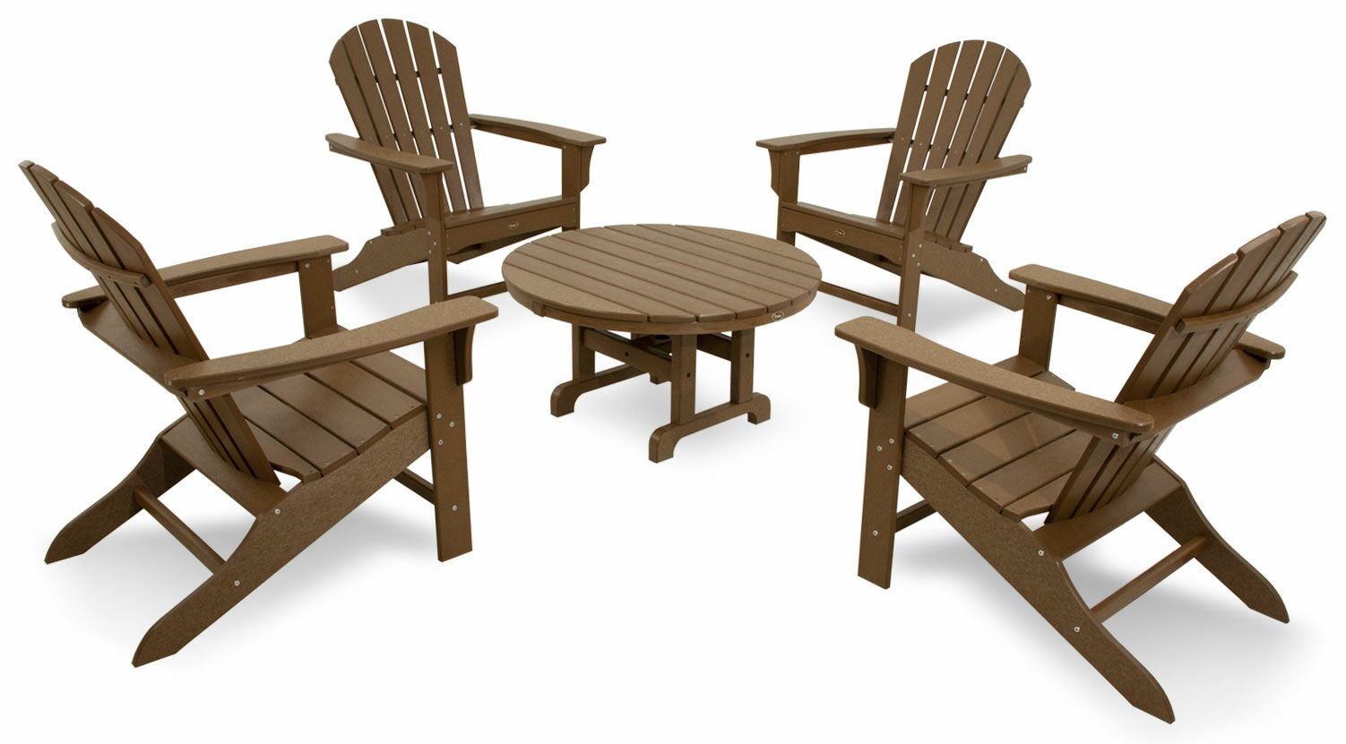 Cape Cod 5 Piece Conversation Set Color: Tree House