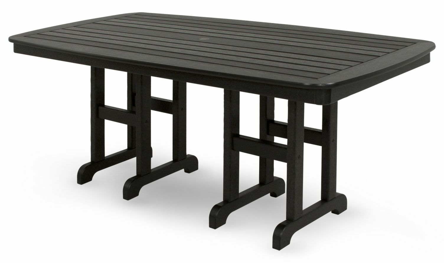 Yacht Club Dining Table Finish: Charcoal Black