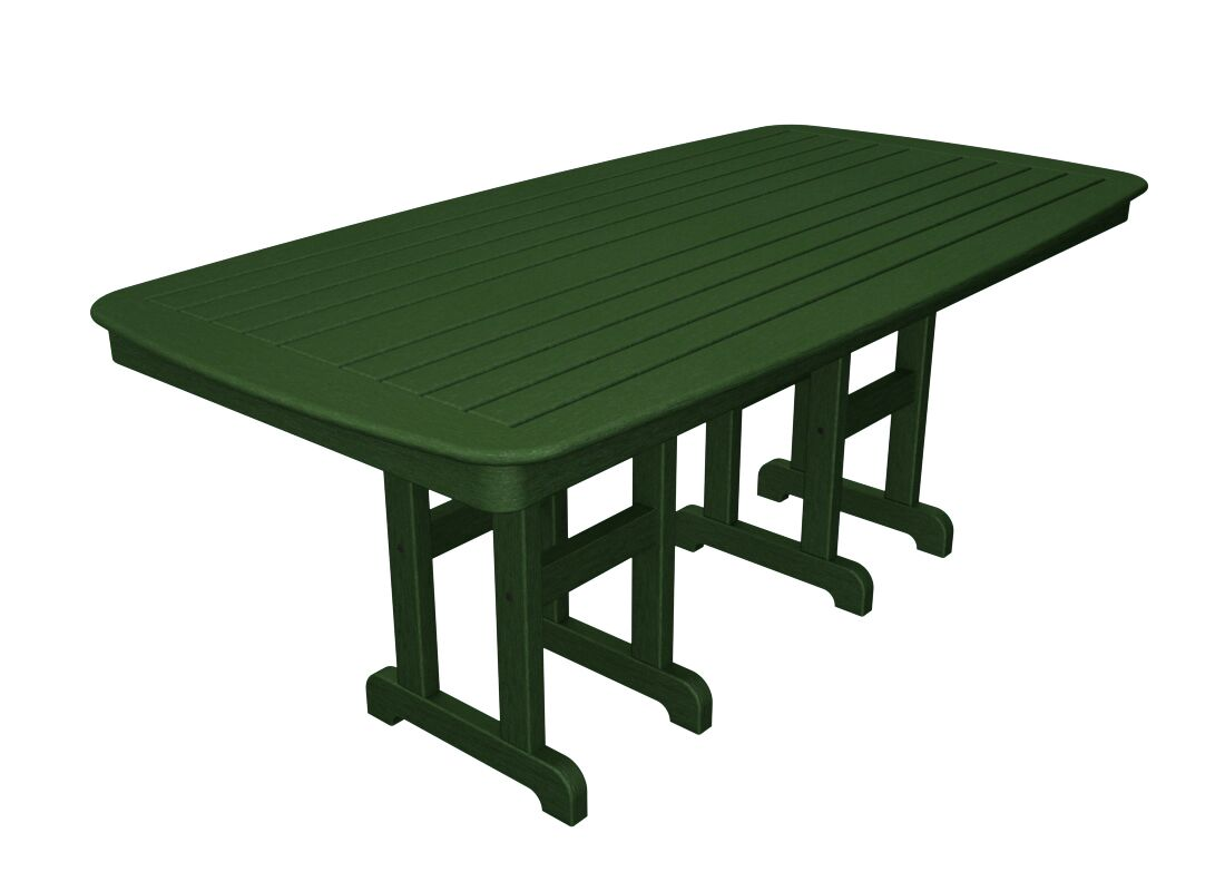 Yacht Club Dining Table Finish: Rainforest Canopy