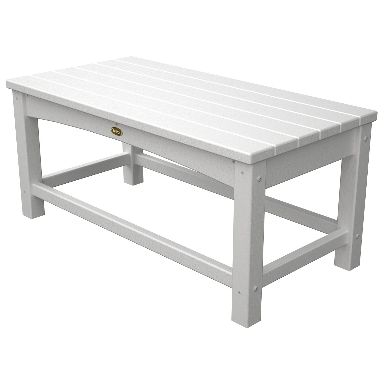Rockport Club Coffee Table Finish: Classic White